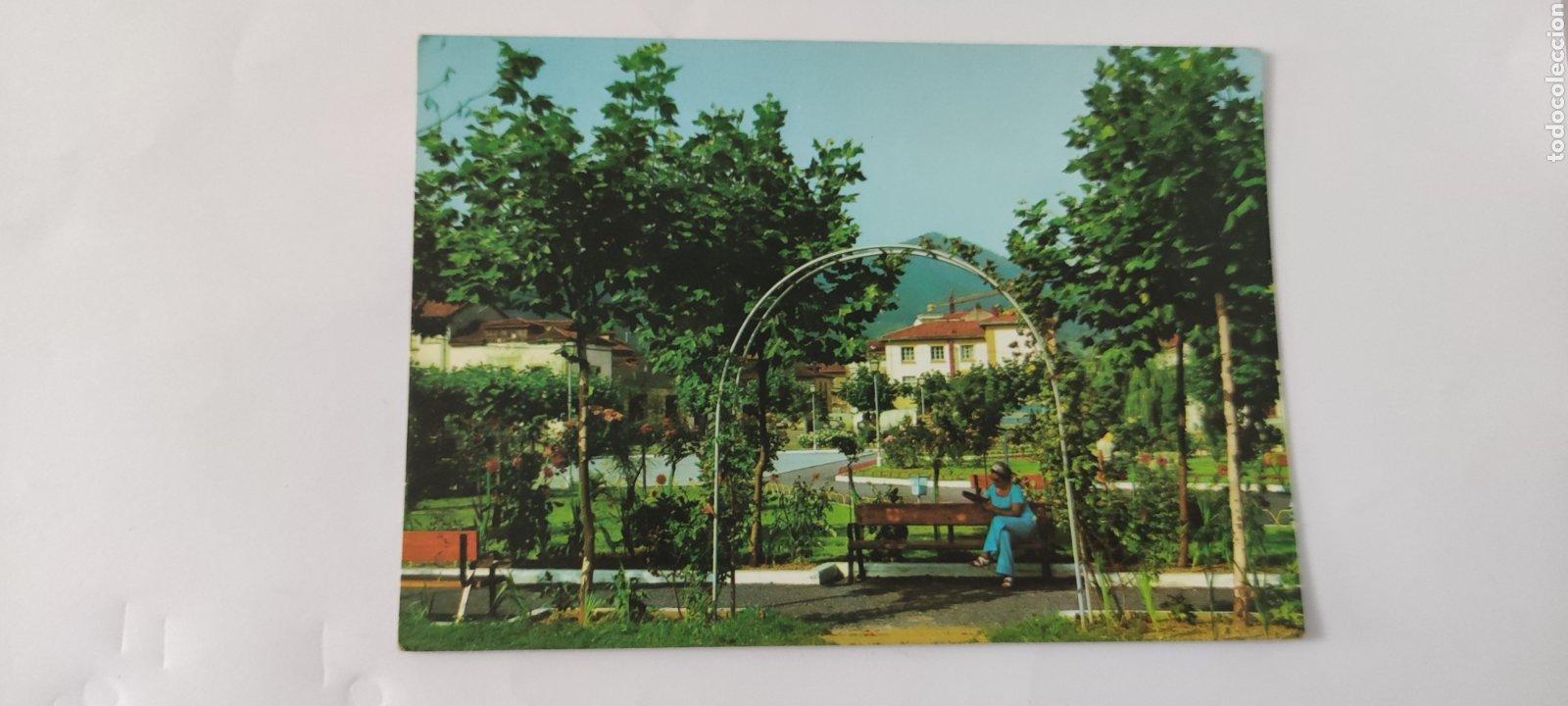 POSTAL 2 ARRIONDAS. PARQUE MUNICIPAL. (Postales - España - Asturias Moderna (desde 1.940))