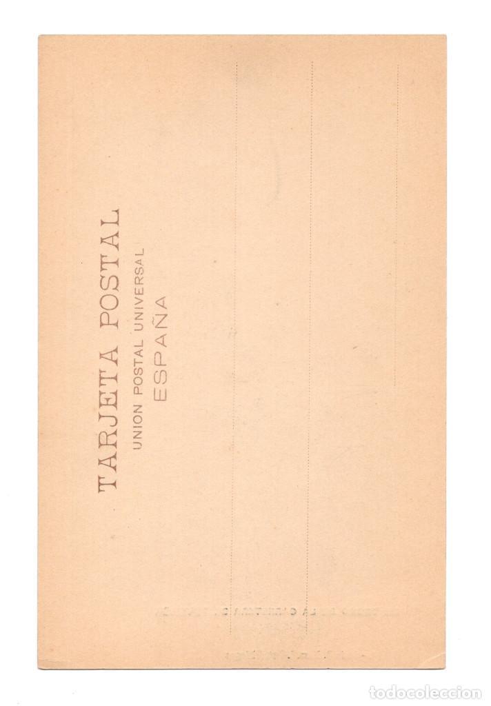 Postales: ASTURIAS.- UN TROZO DE LA CARRETERA DE TEVERGA. - Foto 2 - 248065920