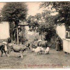 Postales: PRECIOSA POSTAL - ALREDEDORES DE GIJON (ASTURIAS) - CASERIO - ED. F.MATOS. Lote 248168210