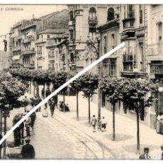 Postales: PRECIOSA POSTAL - GIJON (ASTURIAS) - CALLE CORRIDA. Lote 248185225