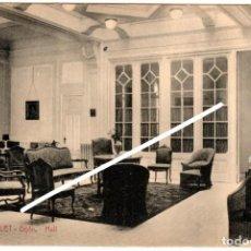 Postales: BONITA POSTAL - GIJON (ASTURIAS) - HOTEL MALET - HALL. Lote 248270020