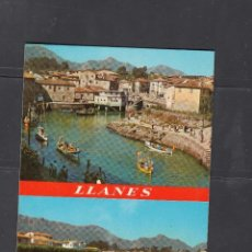 Cartes Postales: 126. LLANES. ENTRADA AL PUERTO. SALEA DE SANTA ANA. Lote 248280910