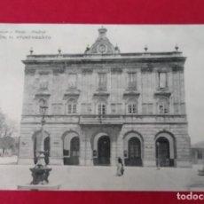 Postales: GIJON EL AYUNTAMIENTO HAUSER Y MENET 1967. Lote 248741160