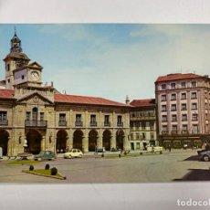 Cartes Postales: TARJETA POSTAL. ASTURIAS. AVILES. 6.- PLAZA DE ESPAÑA. AYUNTAMIENTO. GARCIA GARRABELLA Y CIA. Lote 251164290