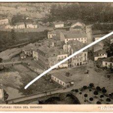 Cartes Postales: BONITA POSTAL - LUARCA (ASTURIAS) - FERIA DEL GANADO - E. GOMEZ - FOTOGRAFO. Lote 251567210