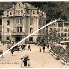 Postales: PRECIOSA POSTAL - LUARCA (ASTURIAS) - PLAZA DE ALFONSO EL SABIO - LIBRERIA ESCOLAR - OVIEDO. Lote 251574725