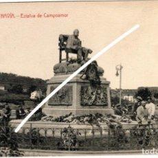 Postales: PRECIOSA POSTAL - NAVIA (ASTURIAS) - ESTATUA DE CAMPOAMOR - EDT. PROPIETARIO - MANUEL P. GONZALEZ. Lote 251589765