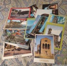 Postales: LOTE 15 POSTALES ASTURIAS EDICIONES ARRIBAS. Lote 252076505