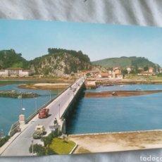 Postales: POSTCARD POSTAL RIBADESELLA PUENTE SOBRE EL SELLA ASTURIAS. Lote 252310005