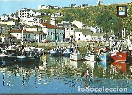 POSTAL A COLOR Nº 2015 LUARCA ASTURIAS DETALLE DEL PUERTO (Postales - España - Asturias Moderna (desde 1.940))