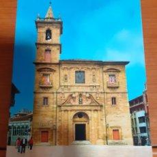 Postales: IGLESIA DE SAN ISIDRO OVIEDO. Lote 254630525