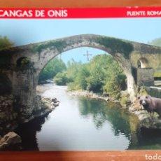 Postales: PUERTE ROMANO CANGAS DE ONIS. Lote 254630840