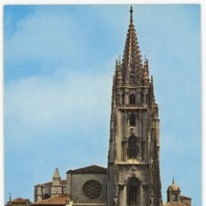 Postales: EM0600 OVIEDO CATEDRAL 1971 VISTABELLA Nº49 COCHES. Lote 256006230