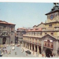 Postales: EM0602 OVIEDO IGLESIA DE SAN ISIDORO 1972 ALCE RENAULT 4 SEAT 600 1500. Lote 256006485