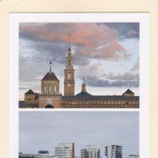 Cartoline: POSTAL UNIVERSIDAD LABORAL Y EDIFICIOS NAUTICOS DE PONIENTE. GIJON. Lote 260771995