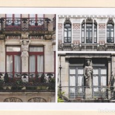 Cartes Postales: POSTAL TRES EDIFICIOS PATRIMONIO URBANISTICO LOCAL. GIJON. Lote 260772125