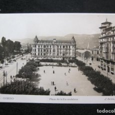 Postais: OVIEDO-PLAZA DE LA ESCANDALERA-ROISIN FOTOGRAFICA-6-POSTAL ANTIGUA-(80.362). Lote 261854980