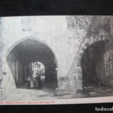Postales: NOYA (OVIEDO)-UNA CALLE DEL SIGLO XV-THOMAS-645-POSTAL ANTIGUA-(80.368). Lote 261855415