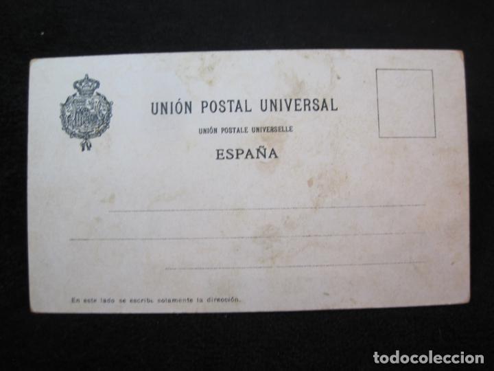 Postales: OVIEDO-ESCUDO-DIBUJO TRIADO-CHOCOLATES JAIME BOIX-REVERSO SIN DIVIDIR-POSTAL ANTIGUA-(80.393) - Foto 3 - 262283365