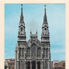 Postales: POSTAL IGLESIA DE STO. TOMAS DE CANTERBURY. AVILES (1964). Lote 262649005