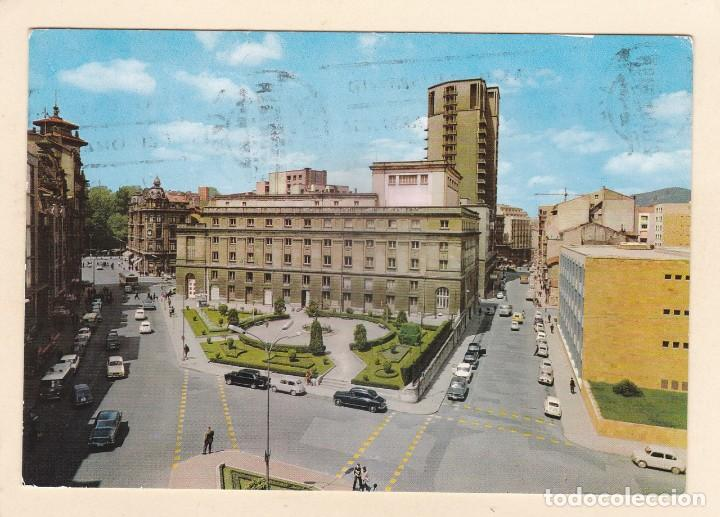 POSTAL TEATRO CAMPOAMOR Y JARDINES. OVIEDO (1962) (Postales - España - Asturias Moderna (desde 1.940))