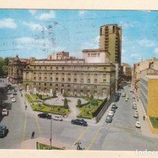 Cartes Postales: POSTAL TEATRO CAMPOAMOR Y JARDINES. OVIEDO (1962). Lote 262650280