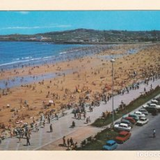 Postales: POSTAL PLAYA DE SAN LORENZO. GIJON (1970). Lote 262817060