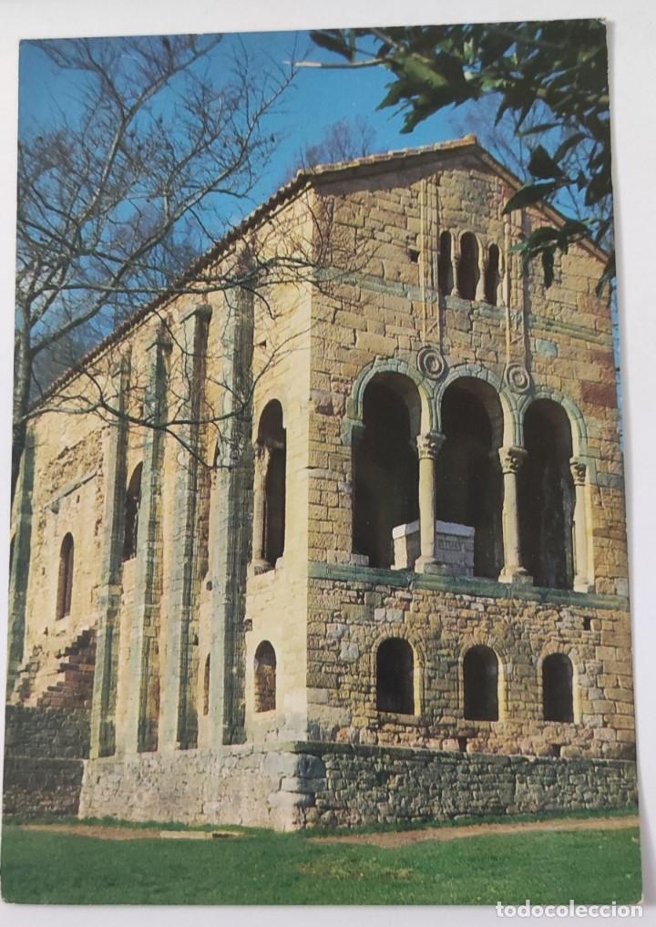 POSTAL 1 OVIEDO. SANTA MARIA DE NARANCO, SIGLO IX. MONUMENTO NACIONAL (Postales - España - Asturias Moderna (desde 1.940))