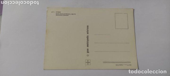 Postales: POSTAL 1 OVIEDO. SANTA MARIA DE NARANCO, SIGLO IX. MONUMENTO NACIONAL - Foto 2 - 264758874