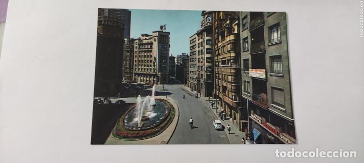 POSTAL 16.354. GIJÓN. PLAZA JOSÉ ANTONIO. (Postales - España - Asturias Moderna (desde 1.940))