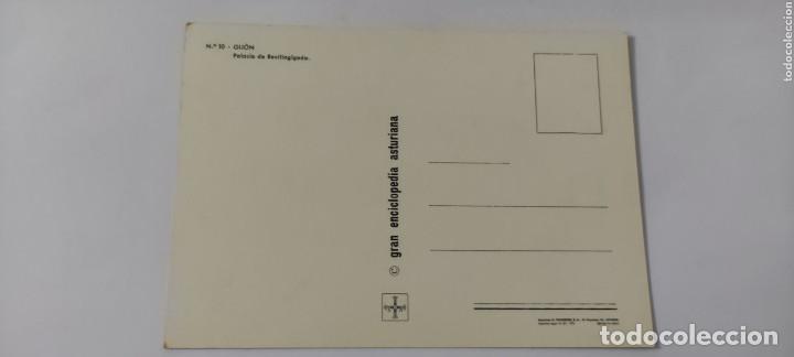 Postales: POSTAL 10 GIJÓN PALACIO REVILLAGIGEDO 1972 - Foto 2 - 264759694