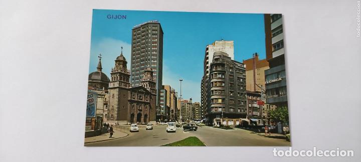 POSTAL 106 GIJÓN CALLE ALVAREZ GARAYA (Postales - España - Asturias Moderna (desde 1.940))