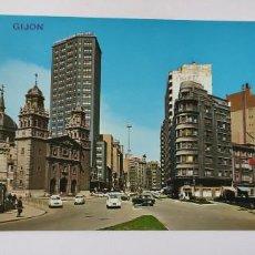 Postales: POSTAL 106 GIJÓN CALLE ALVAREZ GARAYA. Lote 264760254