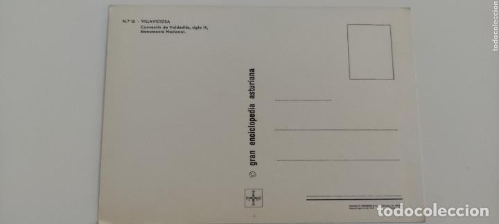 Postales: POSTAL 16. VILLAVICIOSA. CONVENTÍN DE VALDEDIÓS, SIGLO IX. 1972 - Foto 2 - 264761419