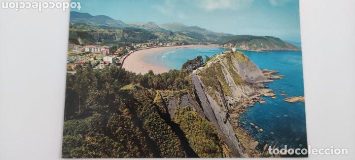 POSTAL RIBADESELLA VISTA GENERAL DE LA PLAYA (Postales - España - Asturias Moderna (desde 1.940))