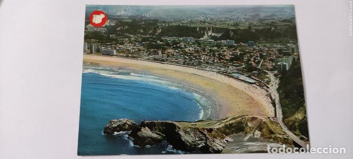 POSTAL SALINAS VISTA AÉREA 882 (Postales - España - Asturias Moderna (desde 1.940))