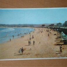 Postales: GIJÓN (ASTURIAS) - PLAYA DE SAN LORENZO. Lote 266508678