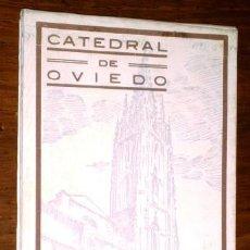 Postales: CARPETILLA 19 POSTALES CATEDRAL DE OVIEDO / APUNTES DE ALFONSO IGLESIAS. Lote 266794879