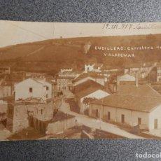 Postales: CUDILLERO ASTURIAS POSTAL FOTOGRÁFICA MUY ANTIGUA - CARRETERA DE VILLADEMAR. Lote 267541439