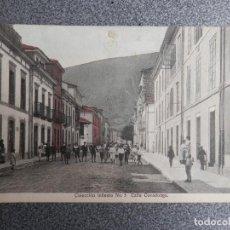 Postales: INFIESTO ASTURIAS - RARA Y BONITA POSTAL ANTIGUA COLECCIÓN INFIESTO Nº 5 CALLE COVADONGA. Lote 267543354