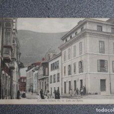 Postales: INFIESTO ASTURIAS - RARA Y BONITA POSTAL ANTIGUA COLECCIÓN INFIESTO Nº 10 COLOREADA C/ RETIRO. Lote 267545549