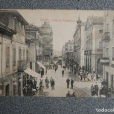 Postales: GIJÓN ASTURIAS CALLE DE JOVELLANOS - POSTAL ANTIGUA ED. F . MATOS. Lote 267593119
