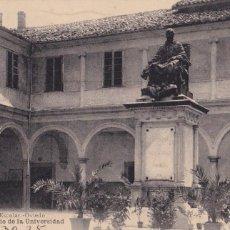 Cartes Postales: OVIEDO PATIO DE LA UNIVERSIDAD. ED. LIBRERIA ESCOLAR, HAUSER Y MENET. CIRCULADA EN 1925. Lote 268155879