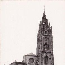 Cartes Postales: OVIEDO CATEDRAL. ED. FOTO ROISIN Nº 43. ESCRITA. Lote 268159284