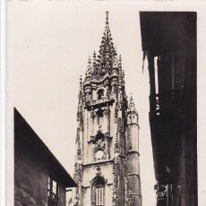 Cartes Postales: OVIEDO CATEDRAL. ED. FOTO ROISIN Nº 21. CIRCULADA. Lote 268159409