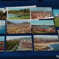 Postales: LOTE TARJETAS 11 POSTALES AÑOS 60 ( POSTALES ASTURIAS ) VER FOTOS. Lote 268759029