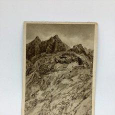 Cartes Postales: POSTAL ASTURIAS. PICOS DE EUROPA. REBECOS EN TORRE DE LLAMBRÓN. HUECOGRABADO RIEUSSET.. Lote 269142623