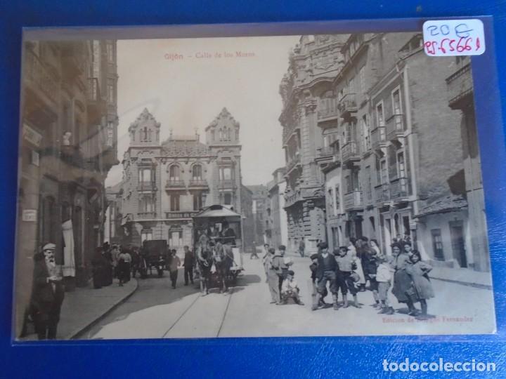 (PS-65661)POSTAL DE GIJON-CALLE DE LOS MOROS.EDICION DE BENIGNO FERNANDEZ (Postales - España - Asturias Antigua (hasta 1.939))