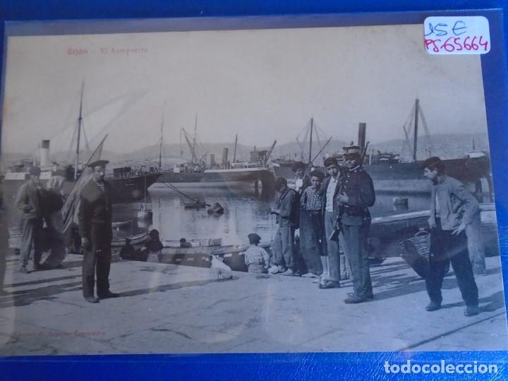 (PS-65664)POSTAL DE GIJON-EL ANTEOUERTO.EDICION BENIGNO FERNANDEZ (Postales - España - Asturias Antigua (hasta 1.939))