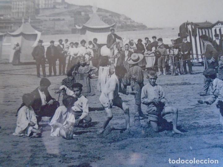 Postales: (PS-65673)POSTAL DE GIJON-PLAYA DE SAN LORENZO.EDICION BENIGNO FERNANDEZ - Foto 2 - 269249053
